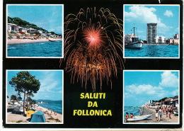 Saluti Da Follonica 1968 Feu Artifice Firework - Italie