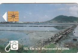 SAINT MARTIN - Salt Pond, Chip GEM1, Used - Antilles (Netherlands)