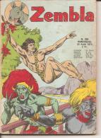 ZEMBLA N° 209 - EDITIONS LUG - 20 AOUT 1974 - ETAT MOYEN - Zembla