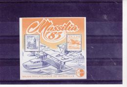 BLOC FEUILLET CNEP N° 6 MASSILIA  85  - COTE : 10 € - CNEP