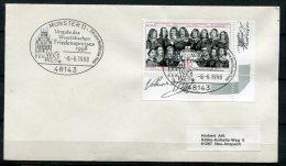 """Germany 1998 Sonderbeleg,Postal Cover-Geschichte Mit Mi.Nr.1979 U.SST""""Münster-Vergabe Des Westf.Friedenpreises """" 1 Beleg - Geschichte"""