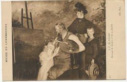 Portrait Of Painter Frits Thaulow And Family  Born In Christiana By Jacques Emile Blanche - Norvège