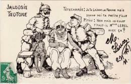 ORENS - Jalousie Teutone - Militaria Satitique - Négritude  (62763) - Orens