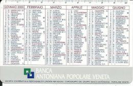 CAL594 - CALENDARIETTO 2000 - BANCA ANTONIANA POPOLARE VENETA - Formato Piccolo : 1991-00