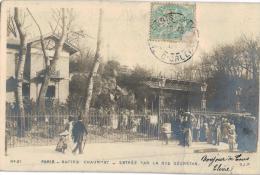 Carte Postale Ancienne De PARIS - BUTTES CHAUMONT - District 19