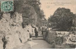 Carte Postale Ancienne De PARIS - BUTTES CHAUMONT - Arrondissement: 19