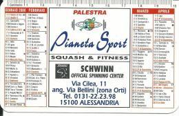CAL602 - CALENDARIETTO 2000 - PIANETA SPORT - ALESSANDRIA - Formato Piccolo : 1991-00