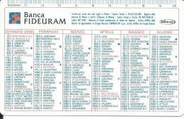 CAL610 - CALENDARIETTO 2000 - BANCA FIDEURAM - Formato Piccolo : 1991-00