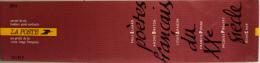 CARNET De 6 TIMBRES NEUFS** LUXE 18,00F - POETES FRANCAIS Du XXiéme SIECLE 1991 - SOUS FACIALE - Booklets