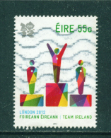 IRELAND - 2012  London Olympic Games  55c  Used As Scan - Used Stamps