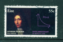IRELAND - 2012  Boyles Law  55c  Used As Scan - Used Stamps