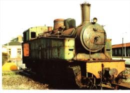 CPSM LOCOMOTIVE LOCOMOTIVE DE 1913 030 030 MALLET - Trains
