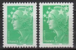 4229 - Marianne Beaujard TVP Vert TD 205 Et TD 215 Neuf** - Unused Stamps