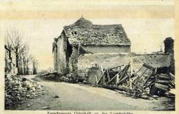GUERRE DE L'ARTOIS 1915 - PEU COURANTE CPA ECRITE EN FELDPOST. - Guerre 1914-18