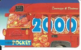 CAL626 - CALENDARIETTO 2000 - TENEREZZE & DINTORNI - Formato Piccolo : 1991-00