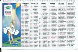 CAL629 - CALENDARIETTO 2000 - PIEFFE - FULLTIME - Calendari