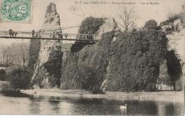 Carte Postale Ancienne PARIS : BUTTES CHAUMONT - Arrondissement: 19