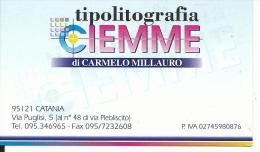 CAL639 - CALENDARIETTO 2000 - TIPOLITOGRAFIA CIEMME - Formato Piccolo : 1991-00
