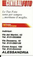 CAL641 - CALENDARIETTO 2000 - CENTRALFOTO - ALESSANDRIA - Formato Piccolo : 1991-00