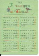 CAL642 - CALENDARIETTO 2000 - IL GIARDINO DI GIULIA - Calendari