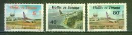 Desserte Aérienne Des Iles - WALLIS ET FUTUNA - Aeroport, Avion - 1980 - Neufs