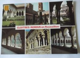 CLOITRES ROMANS EN ROUSSILLON - ELNE ARLES/TECH ST MARTIN ETC... - Bâtiments & Architecture