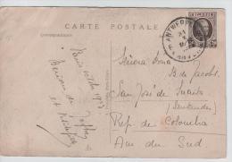 00901a Antwerpen-Anvers 1925 TP Houyoux V. Colombie état Moyen - 1922-1927 Houyoux