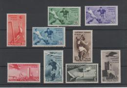 1934 Mondiali Calcio P.o. E P.a. Serie Cpl MLH - 1900-44 Vittorio Emanuele III