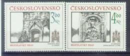CSR 1986-2873-4 PRAHA CITY, CZECHOSLOVAKAI, 1 X 2v, MNH - Checoslovaquia
