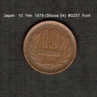 JAPAN    10  YEN  1979  (Hirohito 54---Showa Period)  (Y # 73a) - Japan