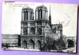 Paris - Eglise Notre Dame - Notre Dame De Paris