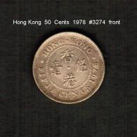 HONG KONG    50  CENTS  1978  (KM # 41) - Hong Kong