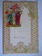Nieuwjaarsbrief Lettre De Nouvel An Genk 1959 Jezus Maria Jozef Decoupis - Mededelingen
