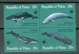 Palau 1983 Whale, WWF MNH** - Lot. 2087 - Palau