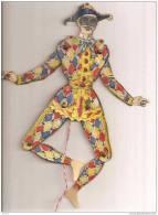 PANTIN ARTICULE EN CARTON ET METAL. HAUTEUR 30CM. A VOIR  REF 15301 - Puppets
