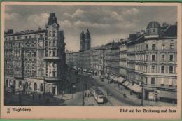 MAGDEBOURG - Blid Auf Den Breiteweg Und Dom - Magdeburg