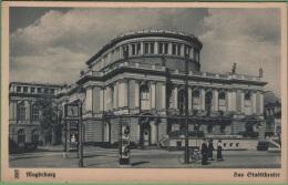MAGDEBOURG - Das Stadttheater - Magdeburg