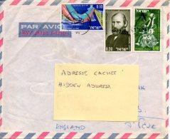 ISRAËL. N°970 De 1986 Sur Enveloppe Ayant Circulé. Basket Pour Les Handicapés. - Handisport