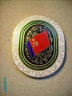 RUSSIA USSR LARGE MEDAL PLAQUE FROM SPORTSMEN OF RSFSR ,0 - Tokens & Medals