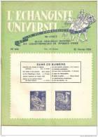"""ECHANGISTE UNIVERSEL """"LA VIE PHILATELIQUE 48`ANNEE DU 25 FEVRIER 1954""""REF 15219 - Magazines"""