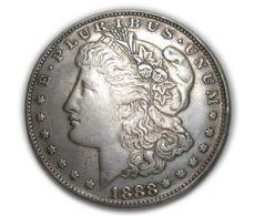 Replica U.S. Morgan Dollar 1888 Cc - Federal Issues