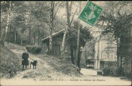 95 SAINT LEU LA FORET / Intérieur Du Château Des Bruyères / - Saint Leu La Foret
