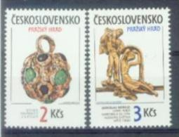 CSR 1986-2865-6 PRAGA CITY, CZECHOSLOVAKAI, 1 X 2v, MNH - Art