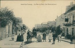 95 SAINT LEU LA FORET / La Rue De Paris / - Saint Leu La Foret
