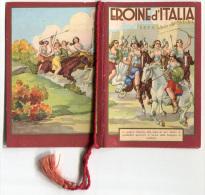 CALENDARIETTO EROINE D'ITALIA ANN0 1942 CALENDRIER - Calendriers