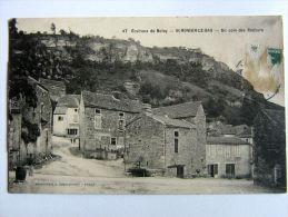 CPA -  21 - Environ De NOLAY - Saint ROMAIN LE BAS - Coin Des Rochers - France
