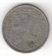 Belguim 1 Frank  1942 Dutch Vf+ !! - 1934-1945: Leopold III