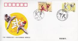 KUNG FU-TAE KWON DO, Rep. Korea, 2002, Special Cancellation !! - Arti Marziali