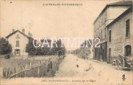 PONTGIBAUD AVENUE DE LA GARE 63 AUVERGNE - Frankreich