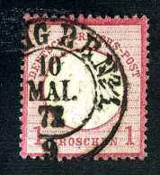 2102e  Reich 1872  Michel #4  Used~  ( Cat.€8.00 )  Offers Welcome! - Gebraucht